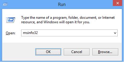 run-msinfo32