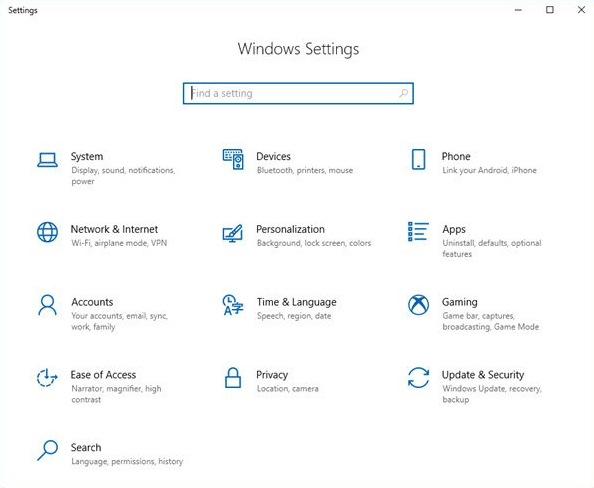 windows-10-settings